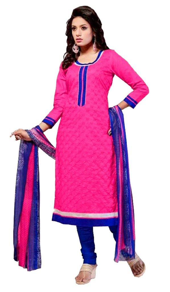 Buy Padmini Unstitched Printed Cotton Dress Material (product Code - Dtsjshinora1007) online