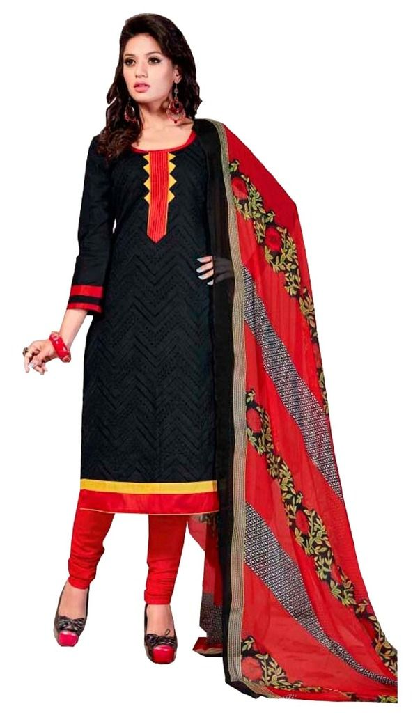 Buy Padmini Unstitched Printed Cotton Dress Material (product Code - Dtsjshinora1008) online