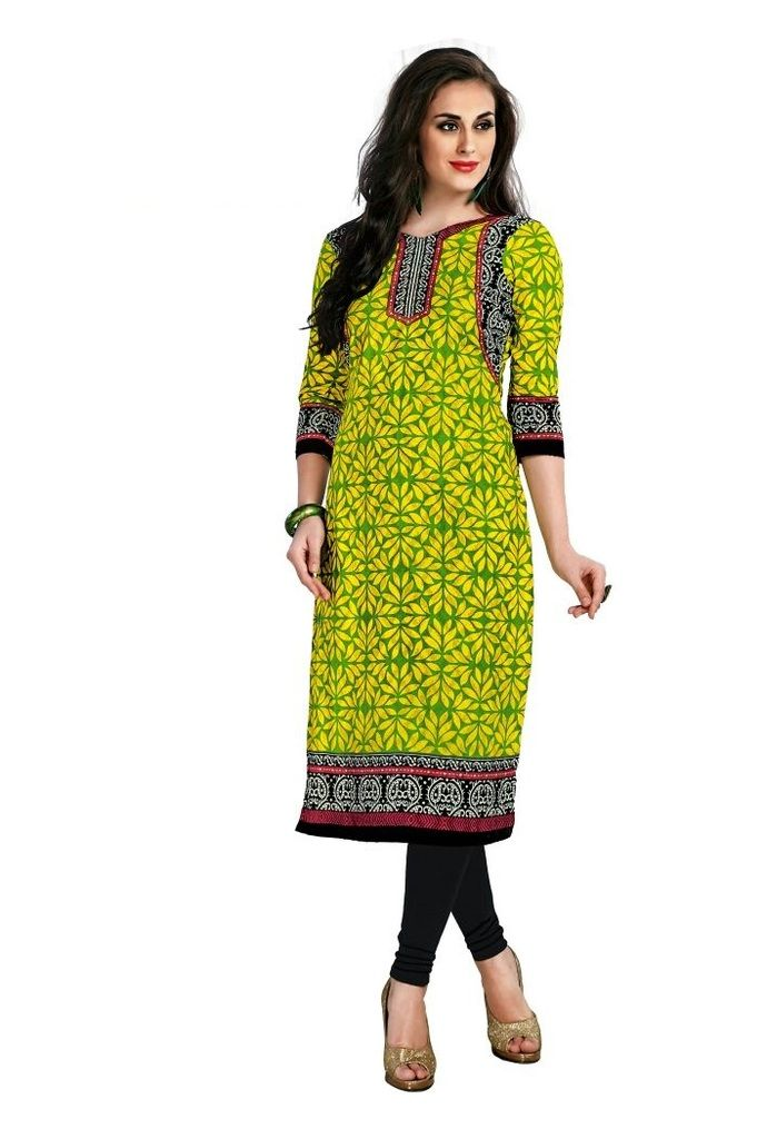 Buy Padmini Unstitched Printed Cotton Kurti Fabrics (product Code - Dtafcoolcot2102) online