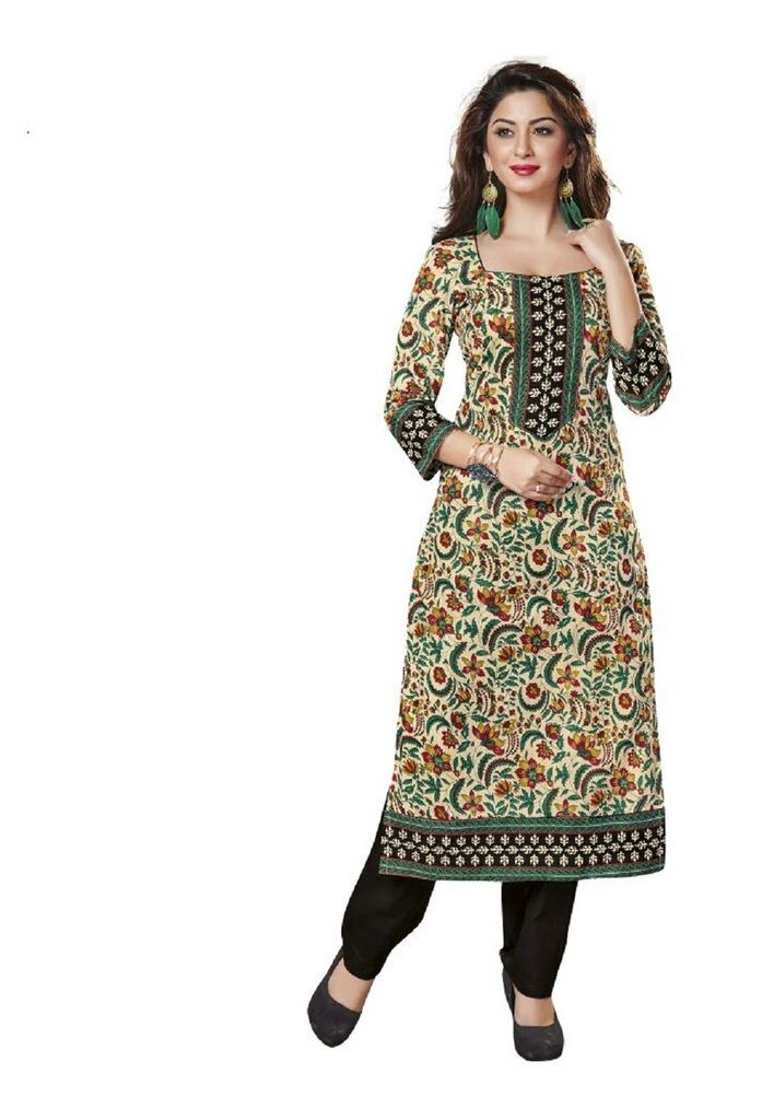 Buy Padmini Unstitched Printed Cotton Kurti Fabrics (product Code -dtkakavya1115) online