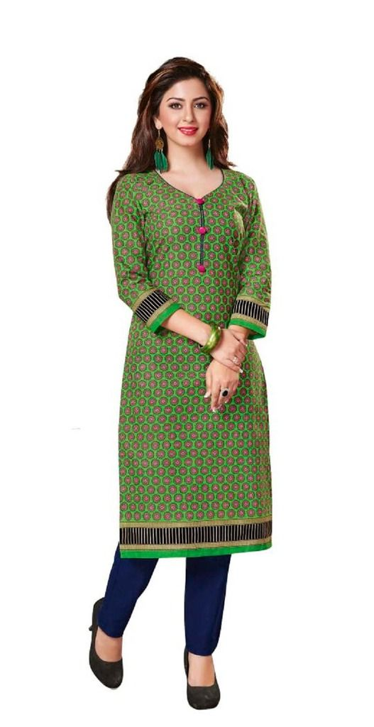 Buy Padmini Unstitched Printed Cotton Kurti Fabrics (product Code -dtkakavya1156) online