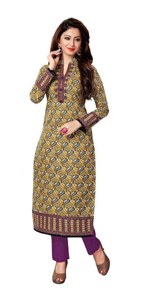 Buy Padmini Unstitched Printed Cotton Kurti Fabrics (product Code -dtkakavya1160) online