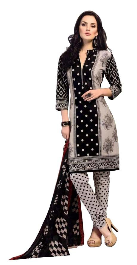 Buy Padmini Unstitched Printed Cotton Dress Materials Fabrics (product Code - Dtbjaroma3145) online
