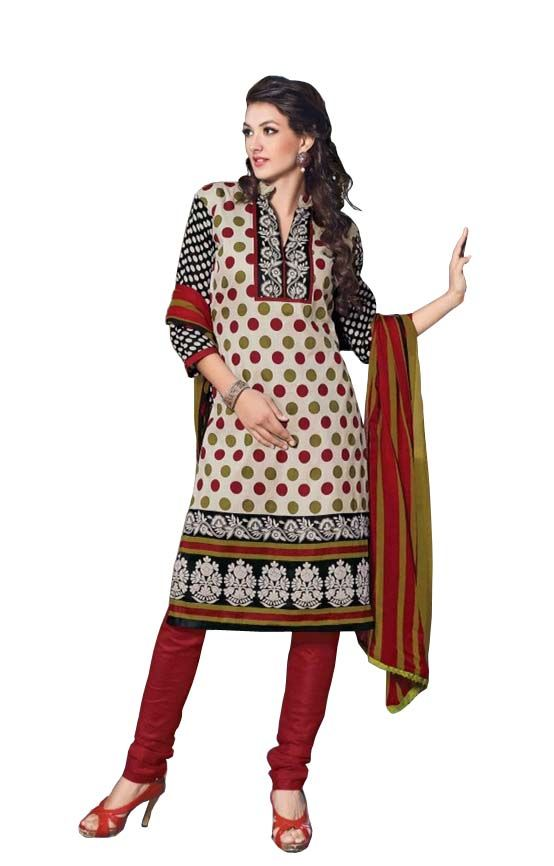 Buy Padmini Unstitched Printed Cotton Dress Materials Fabrics (product Code - Dtbjaroma3150) online