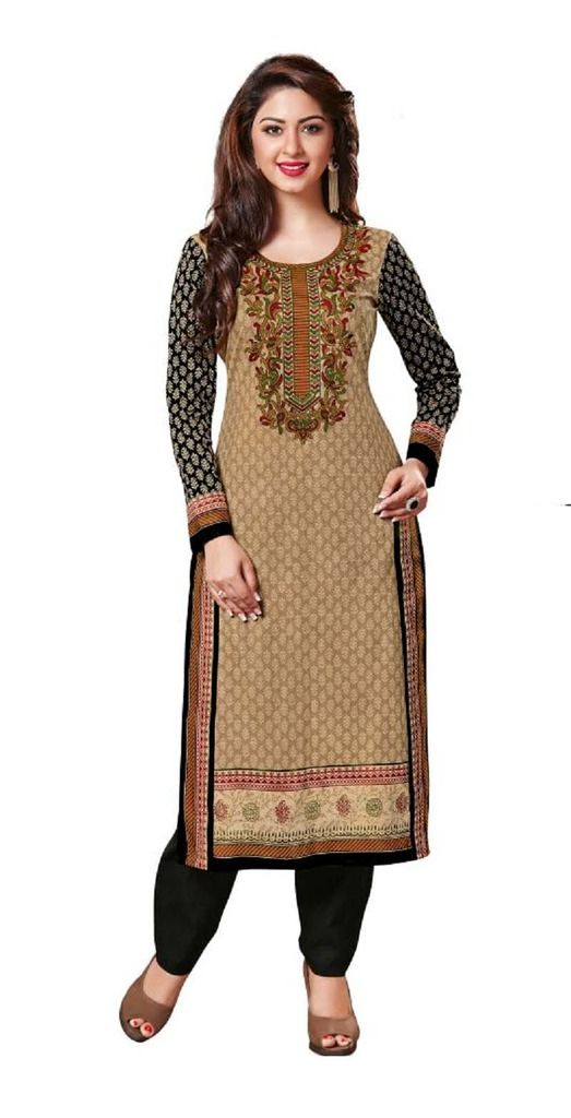 Buy Padmini Unstitched Printed Cotton Kurti Fabrics (product Code -dtkakavya1151) online