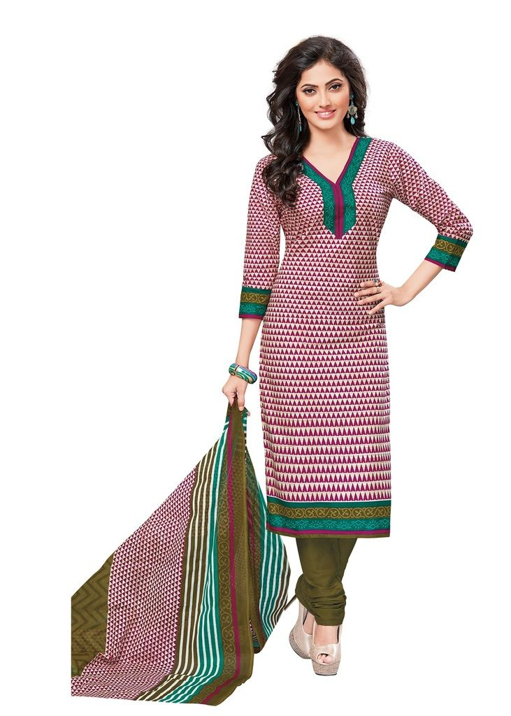 Buy Padmini Unstitched Printed Cotton Dress Materials Fabrics (product Code - Dtvcshrutika2002) online