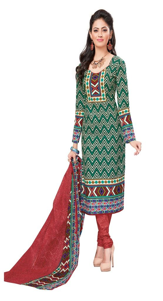 Buy Padmini Unstitched Printed Cotton Dress Materials Fabrics (product Code - Dtvcshrutika2011) online