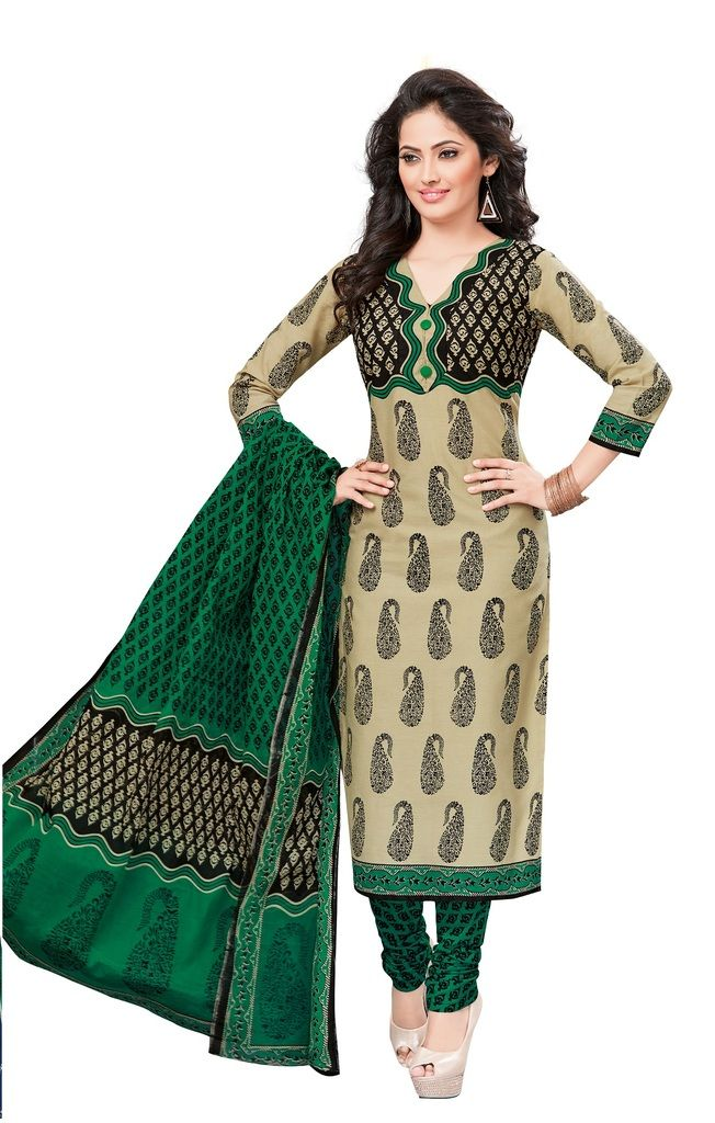 Buy Padmini Unstitched Printed Cotton Dress Materials Fabrics (product Code - Dtvcshrutika2014) online