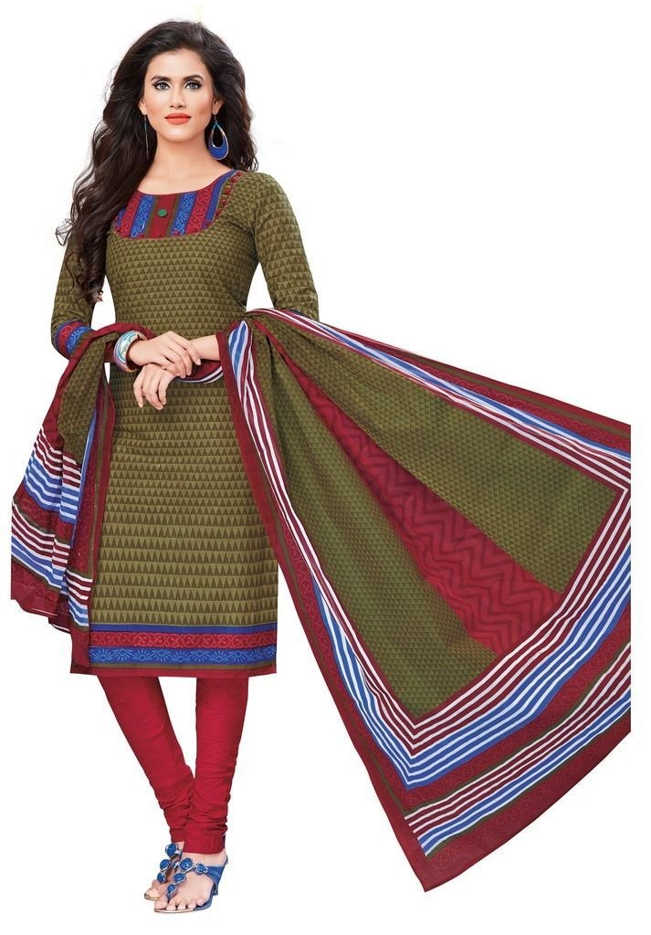 Buy Padmini Unstitched Printed Cotton Dress Materials Fabrics (product Code - Dtvcshrutika2019) online