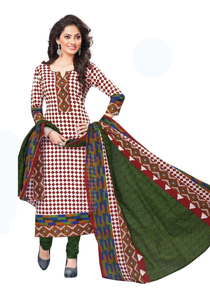 Buy Padmini Unstitched Printed Cotton Dress Materials Fabrics (product Code - Dtvcshrutika2020) online