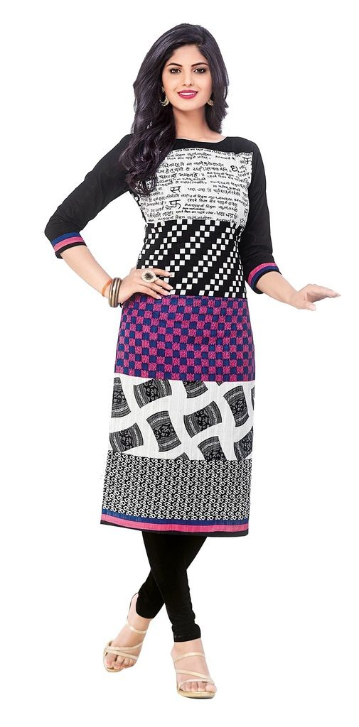 Buy Padmini Unstitched Printed Cotton Kurti Fabrics (product Code - Dtkapriya2155) online