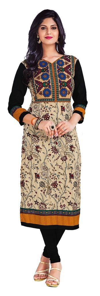 Buy Padmini Unstitched Printed Cotton Kurti Fabrics (product Code - Dtkapriya2156) online