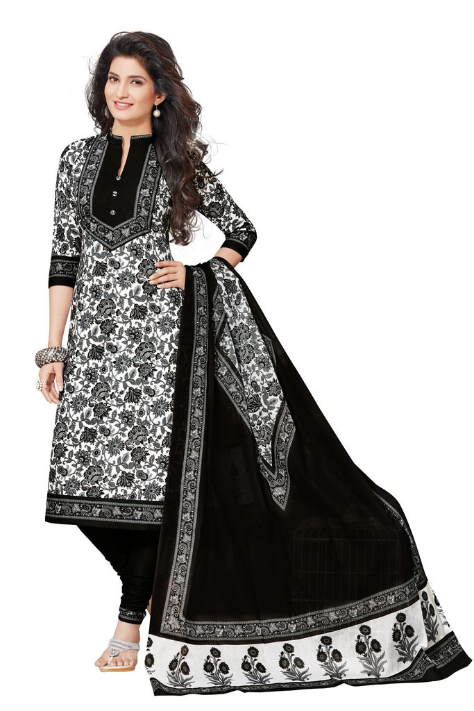 Buy Padmini Unstitched Printed Cotton Dress Materials Fabrics (product Code - Dtafspl2614) online