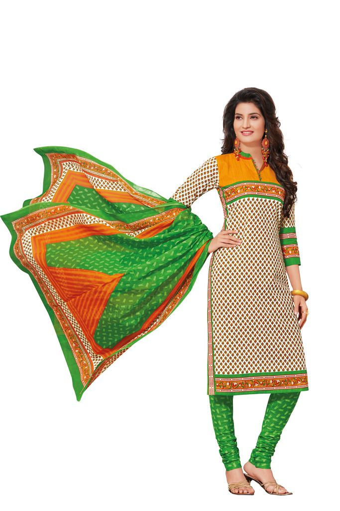 Buy Padmini Unstitched Printed Cotton Dress Materials Fabrics (product Code - Dtafspl2617) online