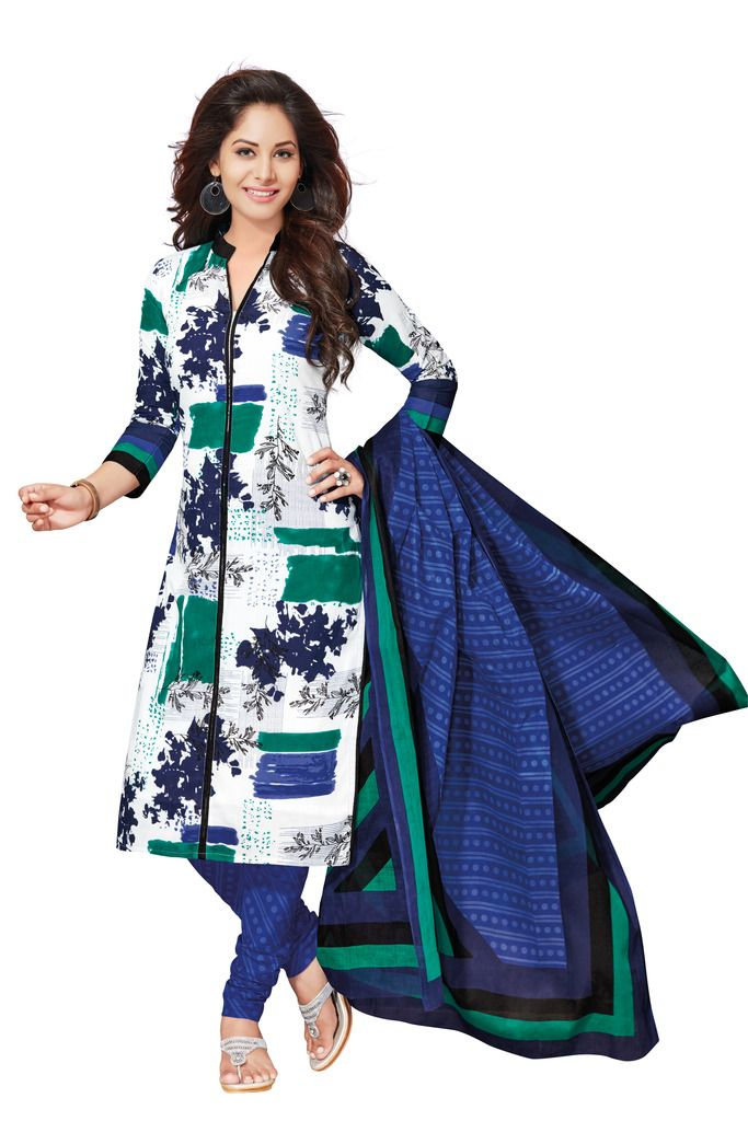 Buy Padmini Unstitched Printed Cotton Dress Materials Fabrics (product Code - Dtafspl2619) online