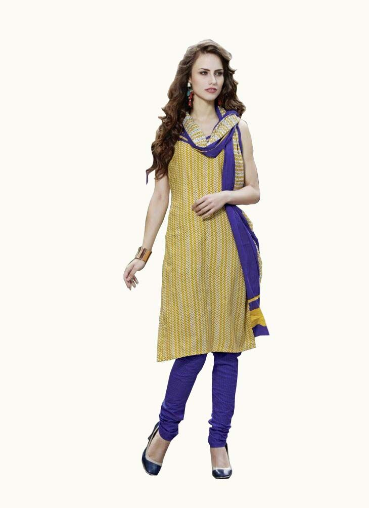Buy Padmini Unstitched Printed Cotton Dress Material (product Code - Dtpcragini3005) online