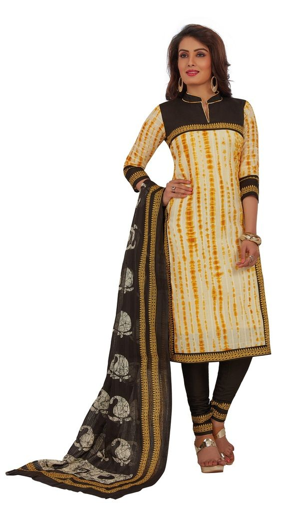 Buy Padmini Unstitched Printed Cotton Dress Materials Fabrics (product Code - Dtafrangresham3060) online