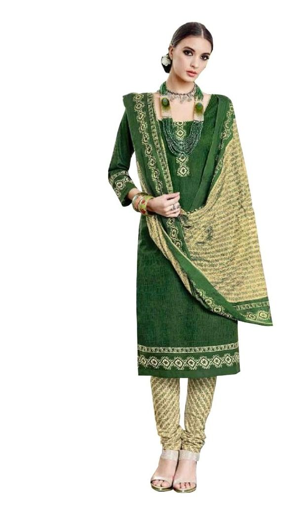 Buy Padmini Unstitched Printed Cotton Dress Material (product Code - Dtsjtrendy3407) online