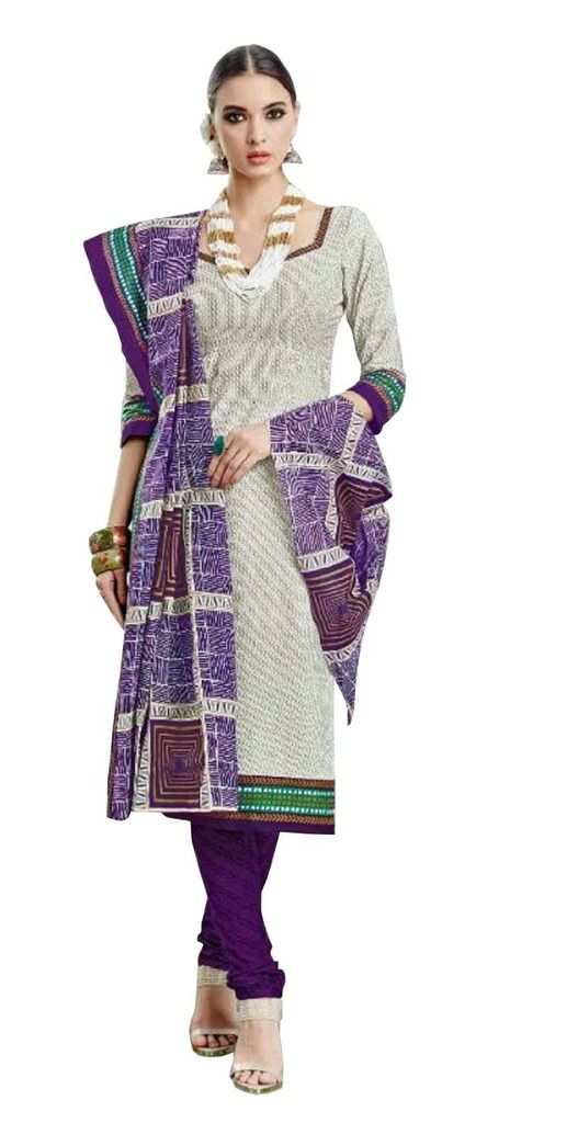 Buy Padmini Unstitched Printed Cotton Dress Material (product Code - Dtsjtrendy3416) online