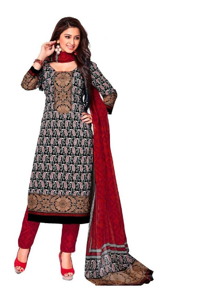 Buy Padmini Unstitched Printed Cotton Dress Material (product Code - Dtkashree4710) online