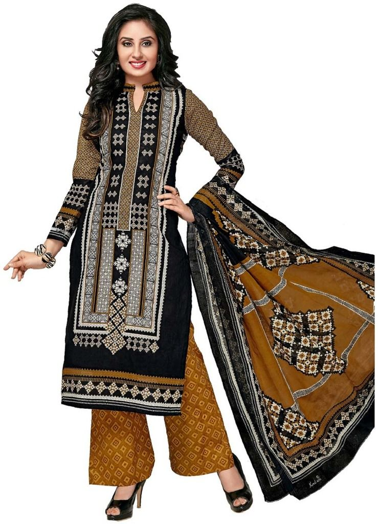 Buy Padmini Unstitched Printed Cotton Dress Material (product Code - Dtkashree4759) online