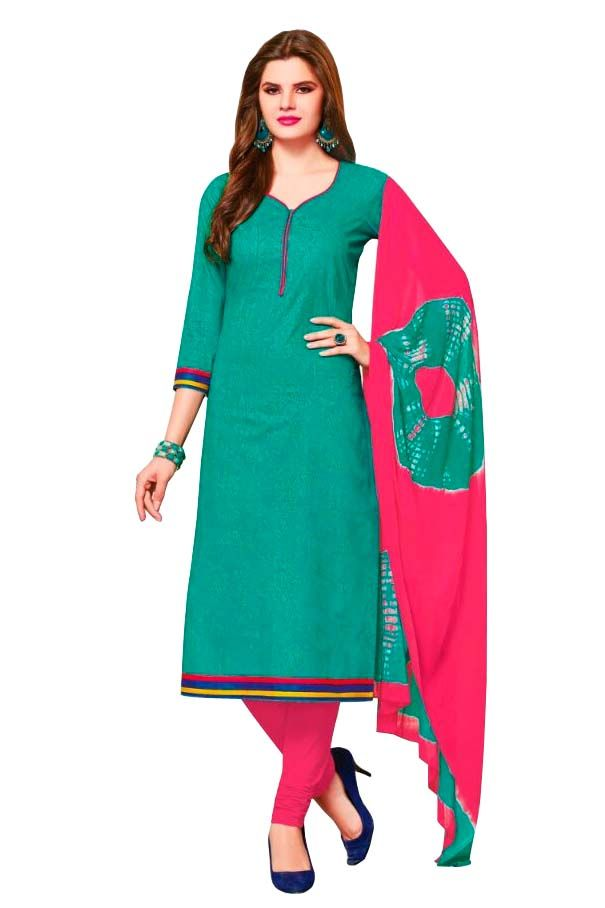 Buy Padmini Unstitched Printed Cotton Dress Material (product Code - Dtsjsuhana5009) online