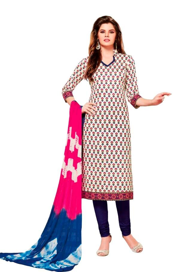 Buy Padmini Unstitched Printed Cotton Dress Material (product Code - Dtsjsuhana5011) online