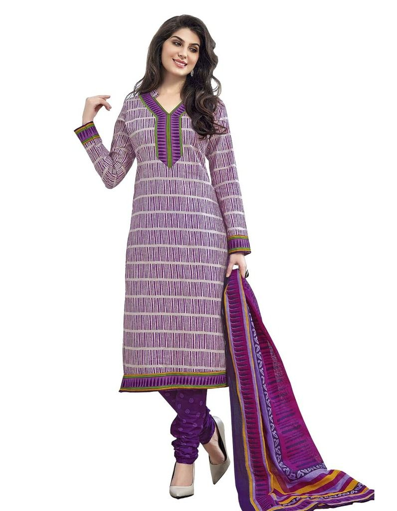 Buy Padmini Unstitched Printed Cotton Dress Material (product Code - Dtmcm5020) online