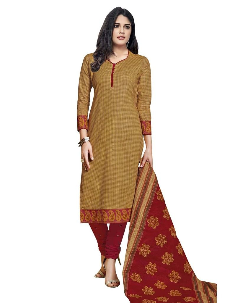 Buy Padmini Unstitched Printed Cotton Dress Material (product Code - Dtmcm5029) online