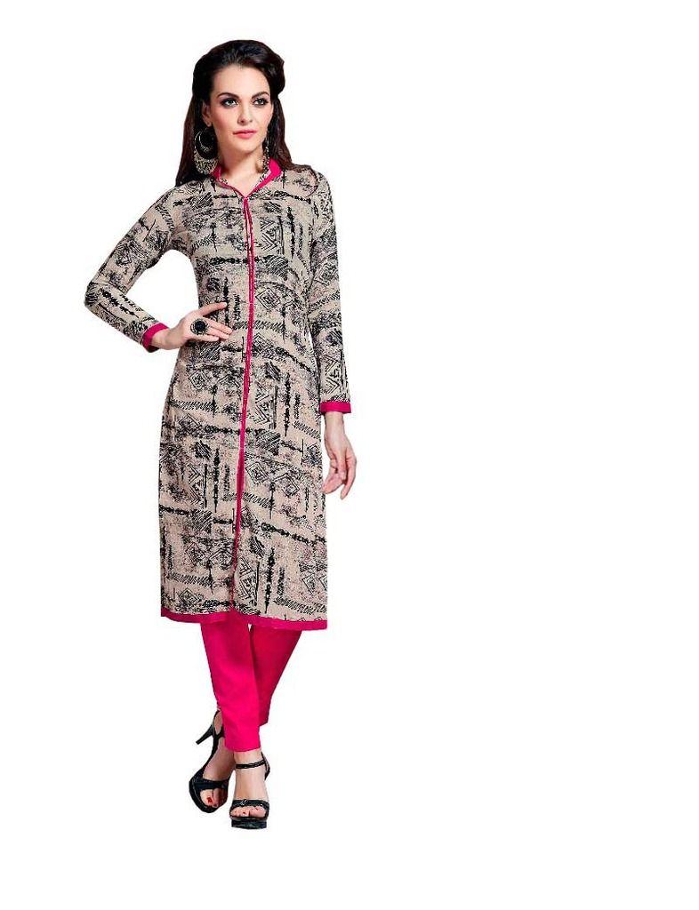 Buy Padmini Unstitched Printed Cotton Kurti Fabrics (product Code - Dtnargiskurti2006) online