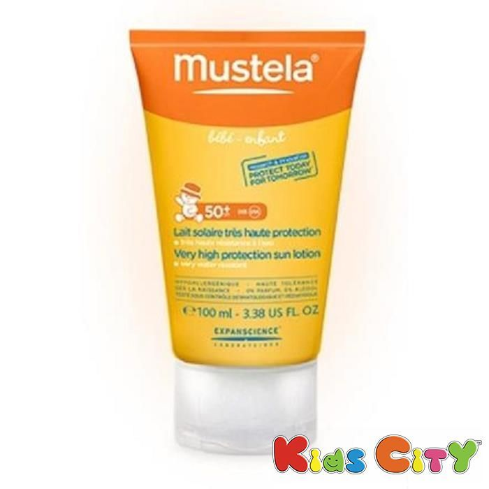 Buy Mustela Very High Protection Sun Lotion Spf50 - 100ml (3.38oz) online