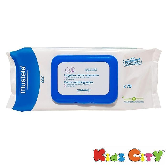 Buy Mustela Dermo-soothing Wipes - 7opc online