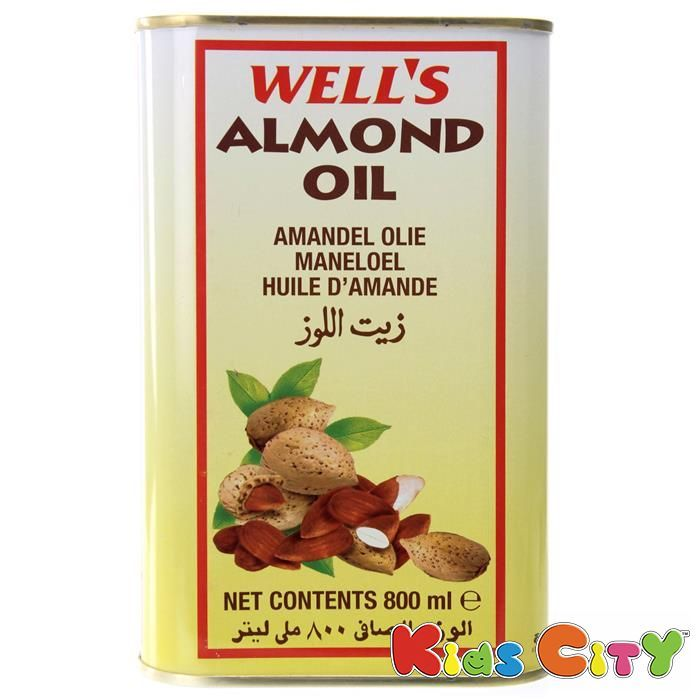 Buy Wells Almond Oil - 800ml (pack Of 3) online