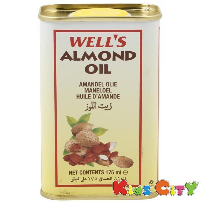 Buy Wells Almond Oil - 175ml (pack Of 2) online