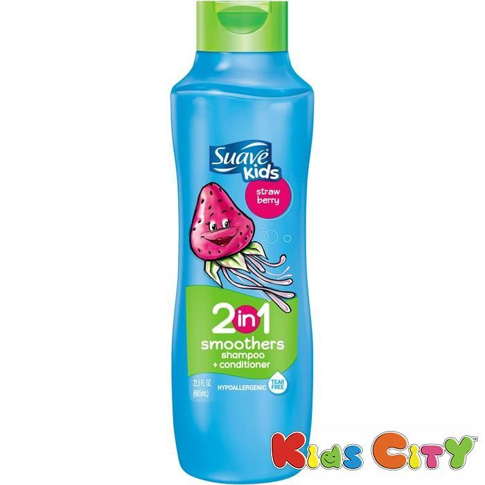 Buy Suave Kids 2 In 1 Smoothers Shampoo + Conditioner 665ml (22.5oz) - Strawberry online