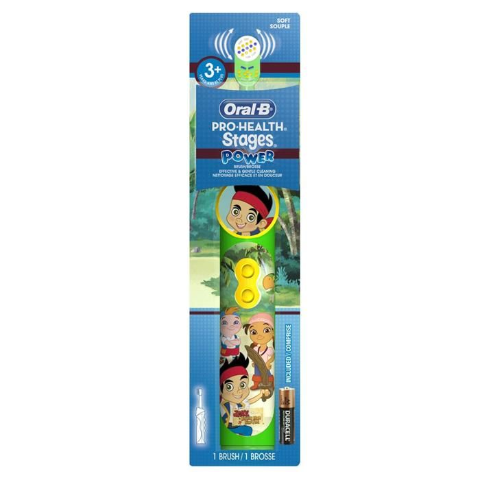 Buy Oral-b Pro-health Stages Power Brush - Jake Never Land Pirates online