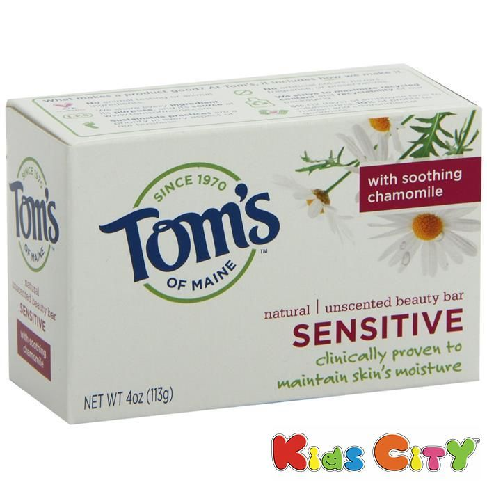Buy Tom's Natural Unscented Beauty Bar Sensitive - 113g (4oz) online