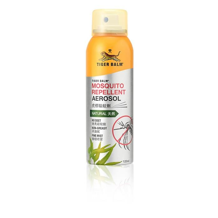 Buy Tiger Balm Mosquito Repellent Aerosol - 120ml online