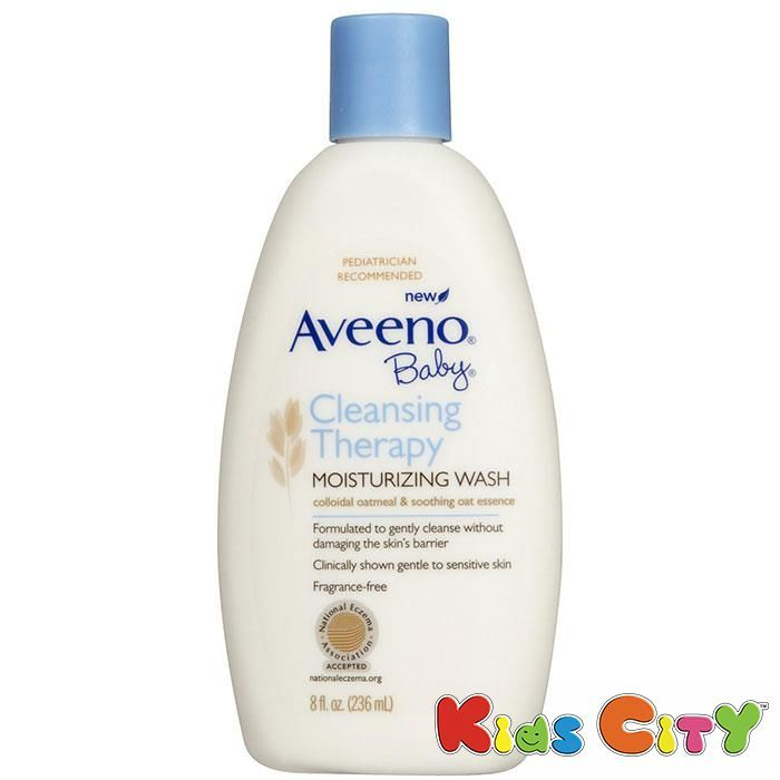 Buy Aveeno Baby Cleansing Therapy Moisturising Wash - 236ml (8oz) online