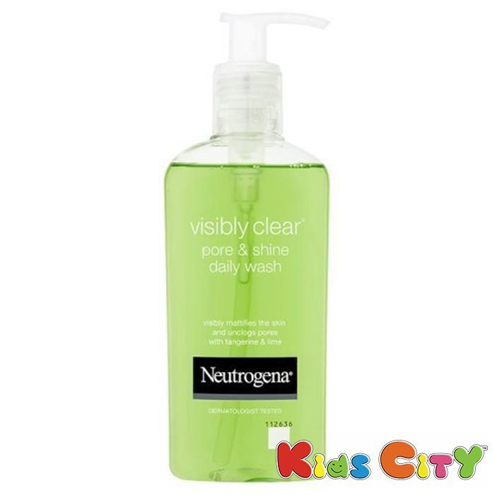 Buy Neutrogena Visibly Clear Pore & Shine Daily Wash - 200ml online