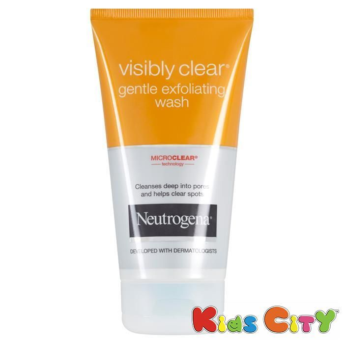 Buy Neutrogena Visibly Clear Gentle Exfoliating Wash - 150ml online
