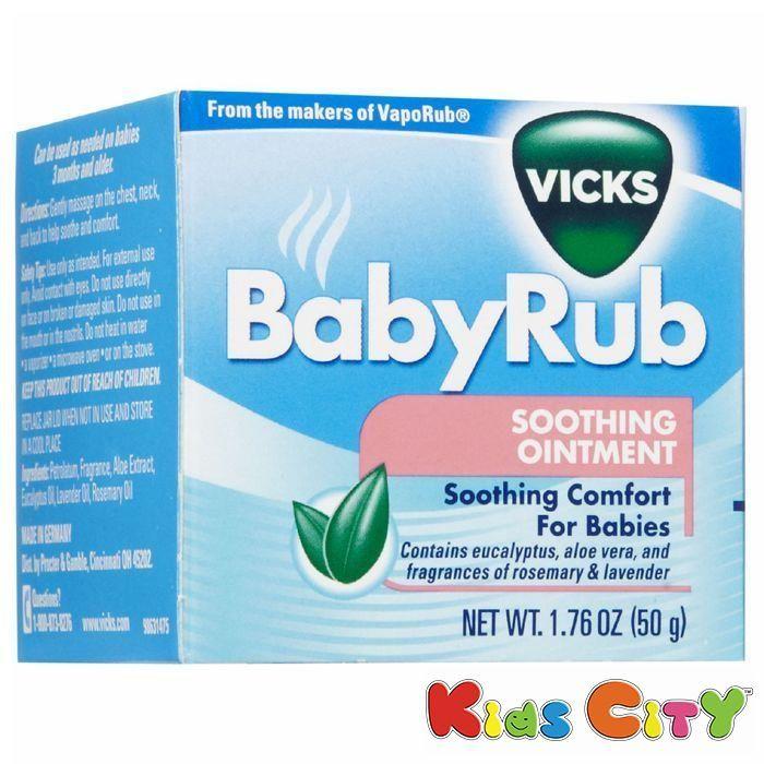 Buy Vicks Babyrub - 50g online