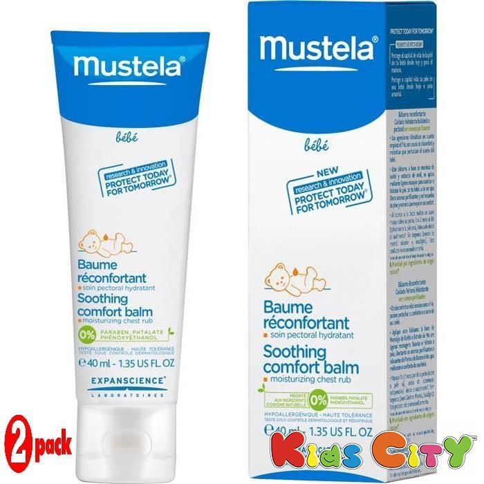 Buy Mustela Soothing Comfort Balm - 40ml (1.35oz) (pack Of 2) online