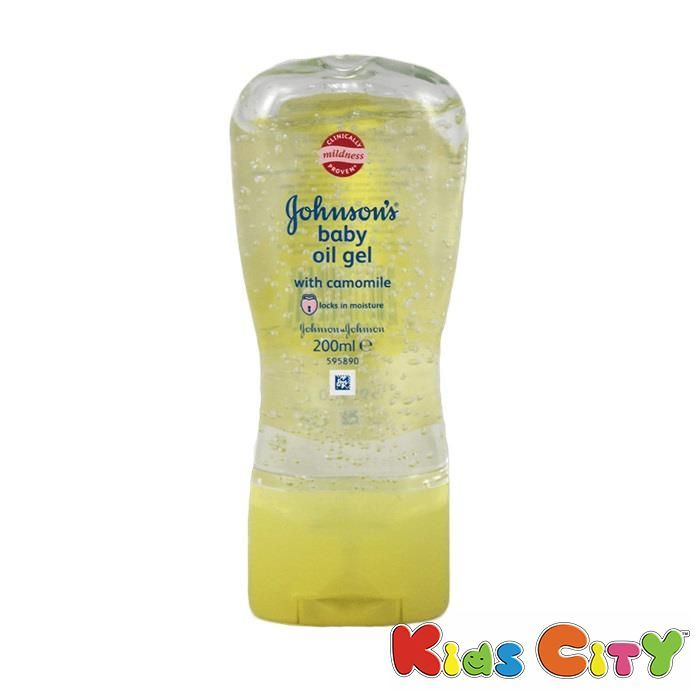 Buy Johnsons Baby Oil Gel With Camomile - 200ml online