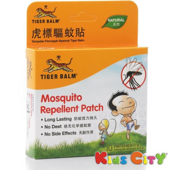 Buy Tiger Balm Mosquito Repellent Patch - 10pc (pack Of 2) online