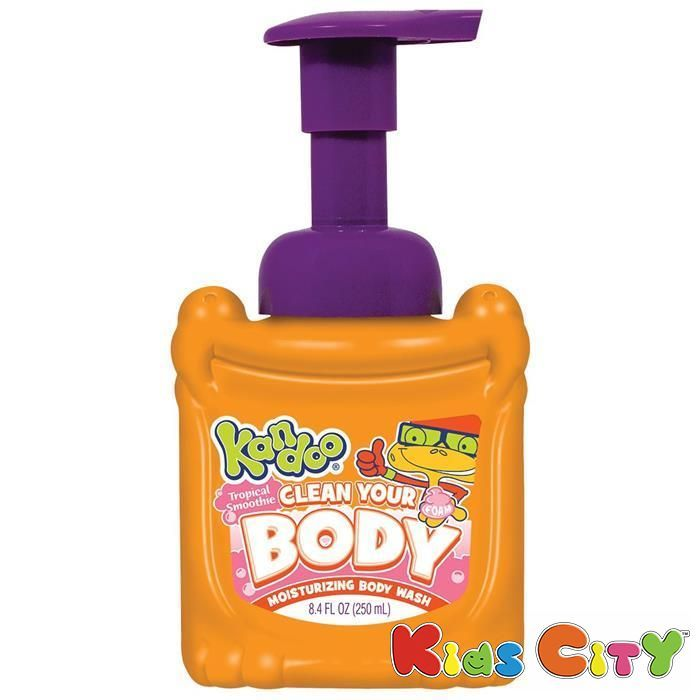 Buy Pampers Kandoo Clean Your Body Moist Body Wash - 250ml online