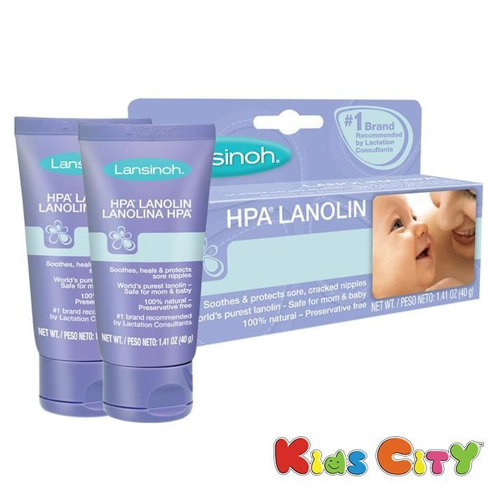 Buy Lansinoh Hpa Lanolin Nipple Cream - 40g (1.41oz) (pack Of 2) online