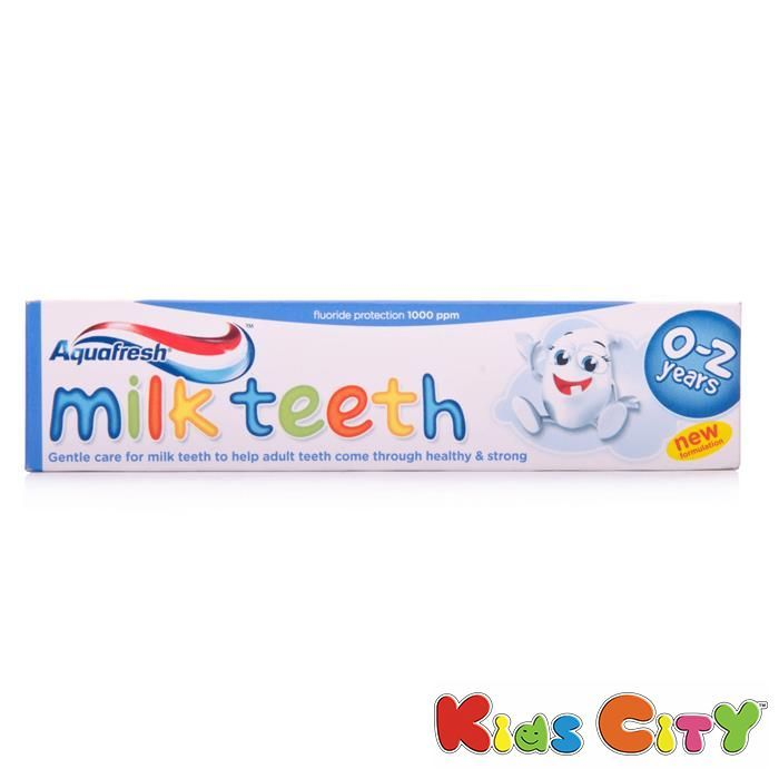 Buy Aquafresh Milk Teeth Toothpaste (0-2y) - 50ml online