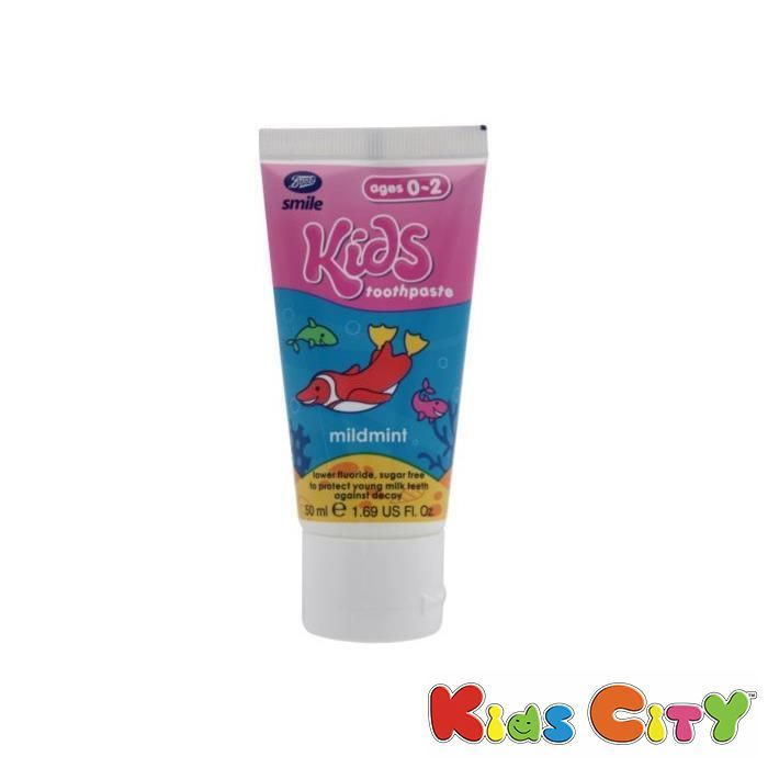 Buy Boots Smile Kids Toothpaste (0-2y) - 50ml (mildmint) online
