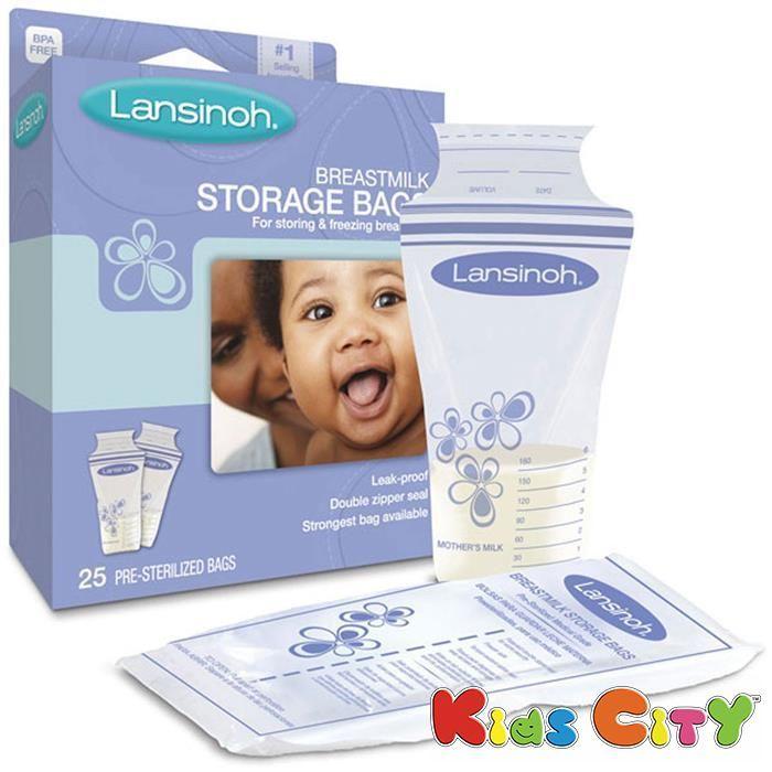 Buy Lansinoh Breastmilk Storage Bags - 25pk online